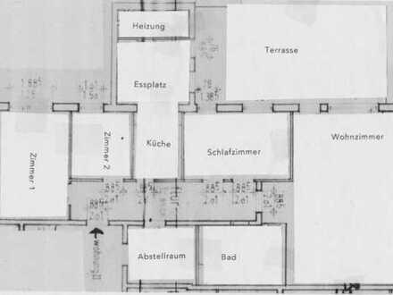 Ruhige 4-Zimmer-Wohnung mit großem Garten in Einzellage in Ganderkesee-Elmeloh