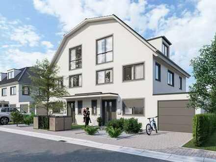 Anspruchsvoll Wohnen - Großzügiges, elegantes Neubau-Doppelhaus