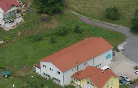 Gewerbegrundstück 1380m² für Wohnhaus und Halle