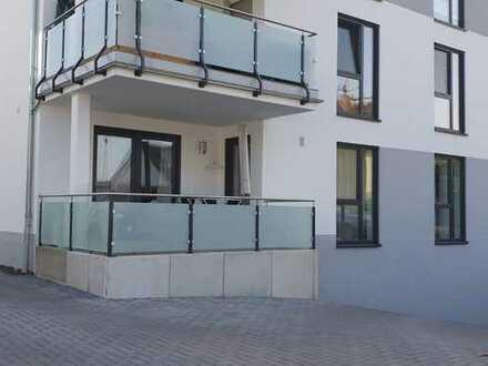 Exklusive, neuwertige 3-Zimmer-Erdgeschosswohnung mit Balkon und EBK in Alzey