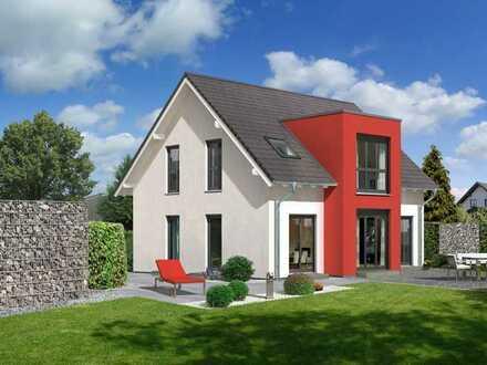 Repräsentatives Einfamilienhaus-Perfektes Wohngefühl: Modernes EFH im KfW 55 Effizienzstandard