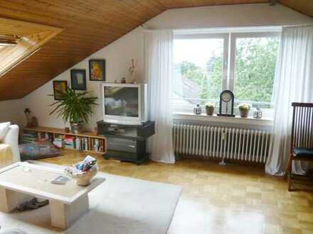 Coesfeld, 3-Raum DG-Wohnung in guter, ruhiger Wohnlage, ca. 44 m²