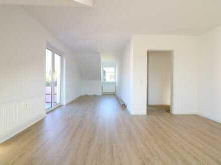 Sanierte 2-Zimmer Dachgeschosswohnung in Sonnenberg