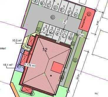 2-Zimmerwohnung im Erdgeschoss mit 79,32 m² Wohnfläche im Neubau in Wildeshausen
