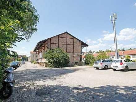 Grundstücke mit Güterhalle - vermietet