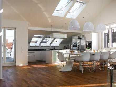Exklusives Penthouse mit 2 großen Dachterrassen nahe Mannheim