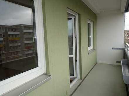 gut geschnittene 2-Raum-Wohnung mit Balkon