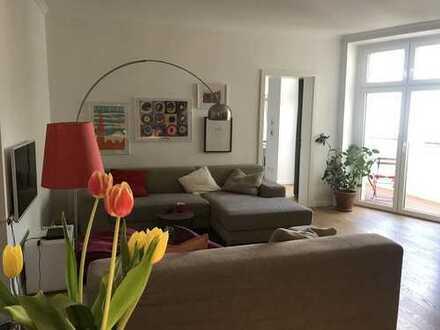 Zwischenmiete / Kurzzeitmiete: voll ausgestattete 4-Zimmer-Wohnung in Prenzlauer Berg