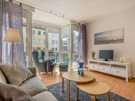 Für Senioren: Zentrale 1-Zi.-Wohnung mit barrierefreiem Bad
