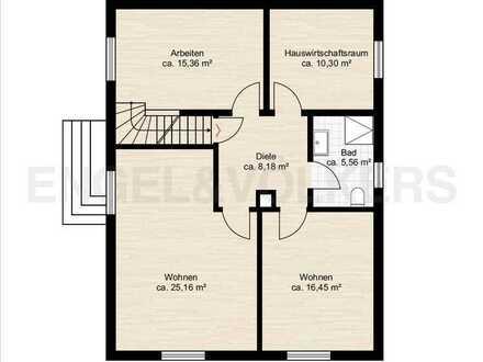 Frisch Sanierte 5-Zimmer Maisonette Wohnung