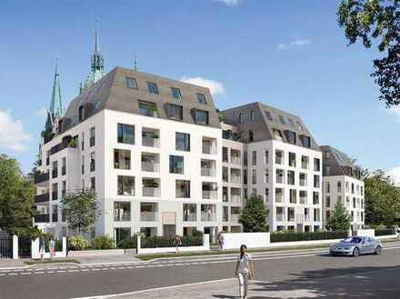 Luxuriöse möblierte 2-Zimmer-Wohnung mit Balkon und Einbauküche in München