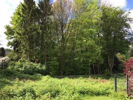 Essen-Kettwig: ruhiges Südgrundstück für freistehendes Einfamilienhaus in bester Lage