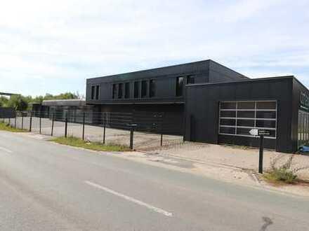 Werkstatt-Autohaus-Waschanlage