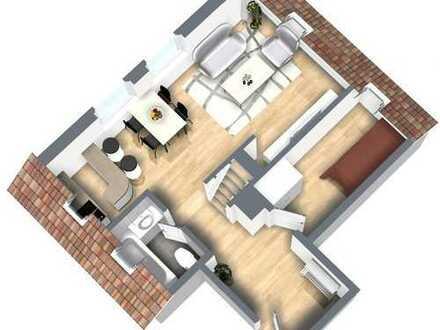Schöne Dachgeschoss-Wohnung in Frankenberg / Sachsenburg