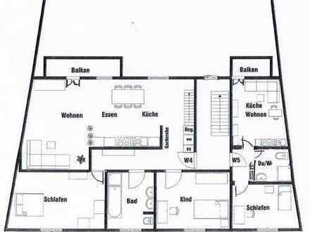 6 Zi. Wohnung mit Dachstudio - ERSTBEZUG nach Generalsanierung