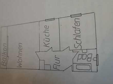 Modernisierte 2-Zimmer-EG-Wohnung mit Balkon in Trudering, München