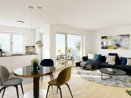 WE26   4-Zimmer-Wohnung mit Balkon und großzügiger Dachterrasse im Westen von Regensburg!
