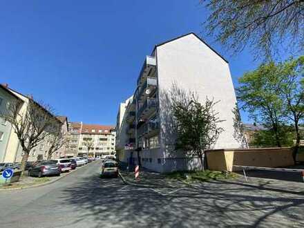 Wohnen am Wiesengrund in Fürth in einer gepflegten 3 Zimmer Wohnung mit Balkon und Garage