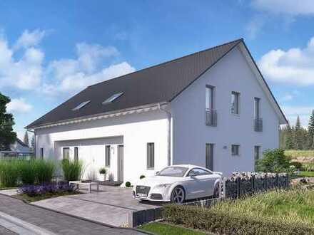 *** Flexibles Doppelhaus mit Stil und Funktionalität für Macher und Projektmanager ***