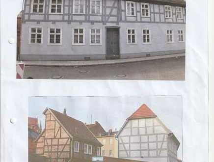 Gepflegte 2-Raum-Erdgeschosswohnung mit Einbauküche in Perleberg