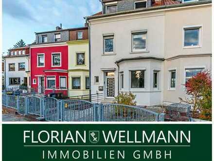Bremen - Woltmershausen   Schicke, individuelle 5-Zimmer-Maisonettwohnung mit schöner Dachterrasse
