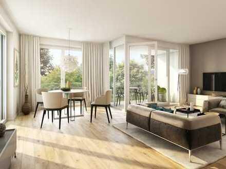 Großzügige 4-Zimmer-Wohnung mit offenem Wohn-/Ess-/Kochbereich und Loggia in Harlaching