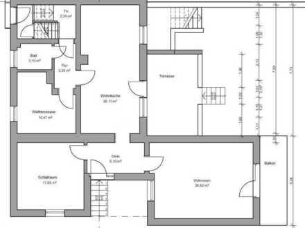 Modernisierte helle 3 Zimmer Wohnung mit Wellnessoase und Garten in Köln-Heimersdorf