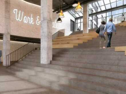 Work and create ... Direkt beim neuen Werksviertel