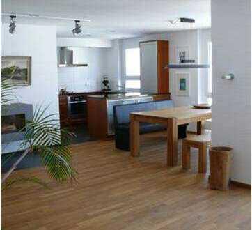 Moderne möblierte u. voll ausgestattete 3-Zimmer Dachgeschosswohnung, Dachterrasse