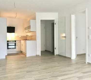 Erstbezug mit Einbauküche, Terrasse, Fahrstuhl und Tiefgaragenstellplatz!