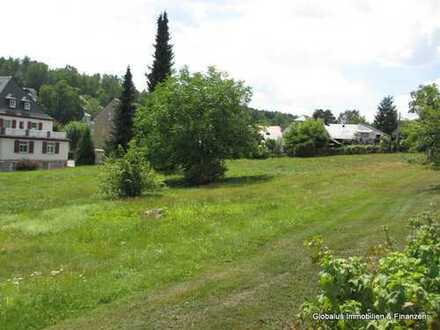 Baugrundstück für ein Einfamilienhaus in dem Kurort Bad Brambach zu verkaufen