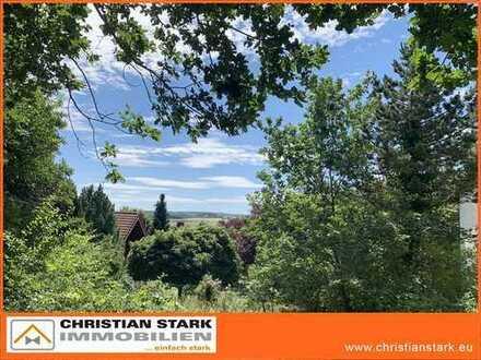Herrliches Aussichtsgrundstück in ruhiger Wohnlage von Seibersbach!