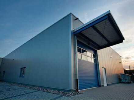 """BAUMÜLLER & CO."" - Neubau ca. 1.000 m² ebenerdige Andieung"