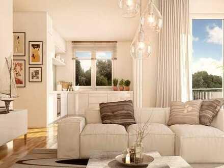EINE SCHÖNE WOHNATMOSPHÄRE! Lichtdurchflutete 2-Zimmer-Premiumwohnung mit großzügiger Dachterrasse