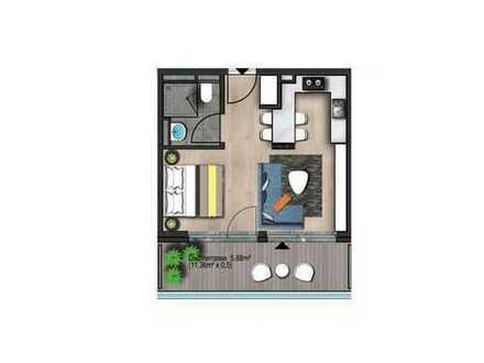 Top Kapitalanlage Single Wohnung in Frankfurt Höchst