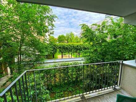 Lifestyle nahe Gärtnerplatz im Glockenbachviertel: 3 Zimmer, Balkon, Pool, Fitness & Spabereich!