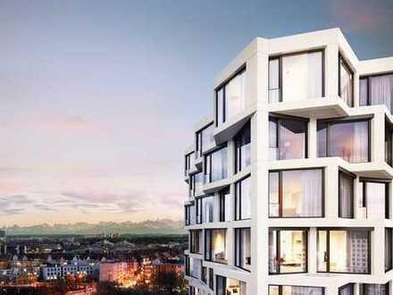 Exklusive, neuwertige 2-Zimmer-Wohnung mit Fitness und Concierge, München