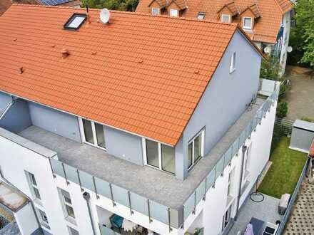 Penthouse mit großer Dachterrasse im Erstbezug