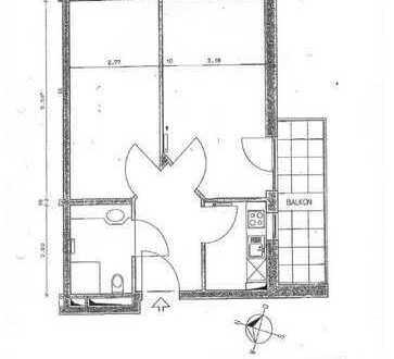 Provisionsfrei - Schönes 2-Zimmer-Appartment mit Balkon im Luftkurort Prien am Chiemsee