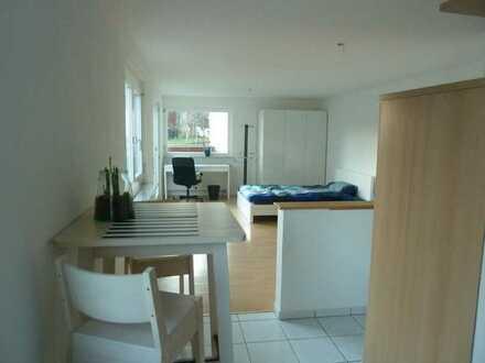 Möblierte Wohnung mit Terrasse/Garten in wunderschöner Lage