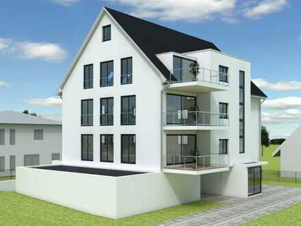Neubau Ortsmitte Schlier: Modernes 3-Familienhaus