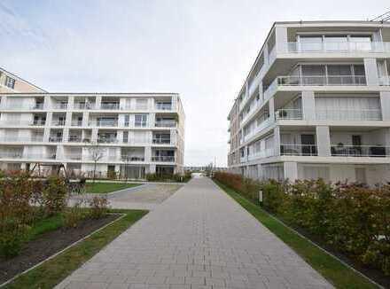 Im 1. Monat mietfrei ! Tolle Neubau-Wohnung mit Wasserblick in Südlage in der Überseestadt