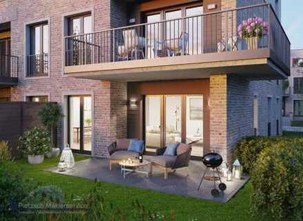 Schöner Wohnen! Erdgeschosswohnung inklusive Sonnengarten!