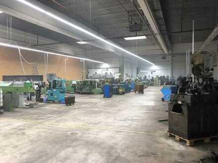 Gewerbehalle (Anteil) als Produktionsgebäude, Werkstatt oder Lager