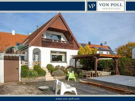 Charmantes Zweifamilienhaus mit besonderen Extras in Löpsingen