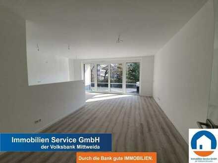 Moderne 4-Raum-Wohnung mit ca. 56 m² großer Terrasse -Neubau-Erstbezug-Tiefgarage-Fahrstuhl-