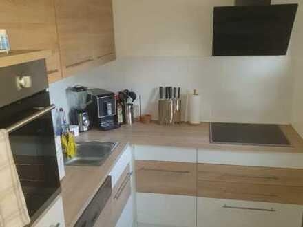 Stilvolle, sanierte 2-Zimmer-Wohnung mit Einbauküche in Obereichsel