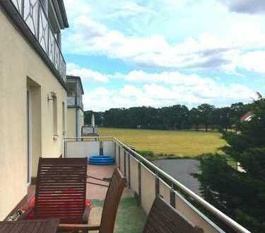 3 Zimmer mit großem Balkon in Groß-Ziethen !
