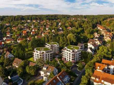 Neubau-Wohnen im Hainbrunnenpark: 4-Zimmer-Wohnung mit Loggia im 2. OG!