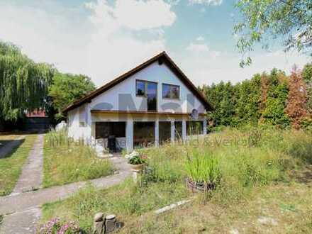 Leben in der Natur - Gepflegtes Wochenendhaus auf großem Grundstück nahe Mannheim